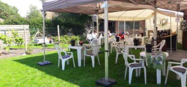 Wijnen proeven met je bubbel in de tuin 18,19 en 20 juni